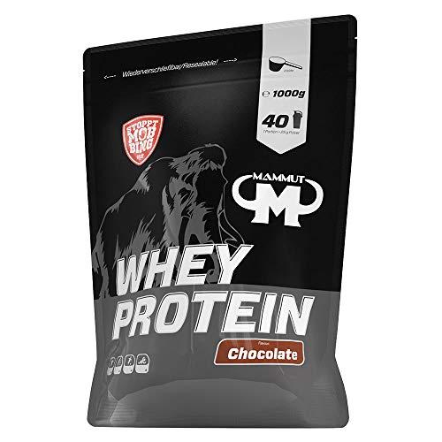 Mammut Nutrition Whey Protein, Chocolate, Molke, Eiweiß, Protein Shake, 1000 g