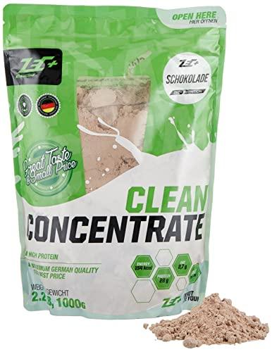 ZEC+ Clean Concentrate – 1000 g, Geschmack Schokolade │ Molkenprotein Whey Pulver