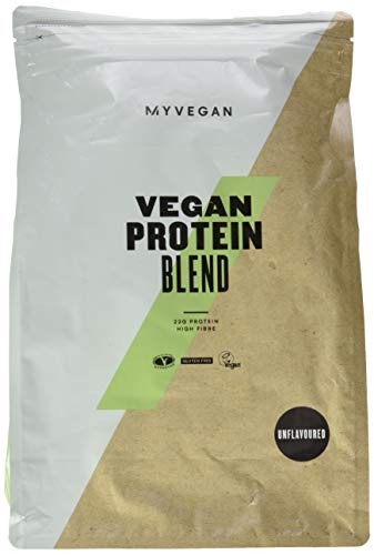 Myprotein Vegan Protein Blend Unflavoured, 1er Pack 1 x 2500 g