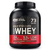 Optimum Nutrition ON Gold Standard Whey Protein Pulver, Eiweißpulver Muskelaufbau mit Glutamin und Aminosäuren, natürlich enthaltene BCAA, Double Rich Chocolate, 74 Portionen, 2.27 kg