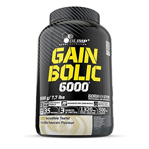 Olimp, Gain Bolic 6000 - 3.5 kg tub - vanilla
