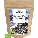 AlpenPower BIO MALTODEXTRIN 1000 g I Hochwertiges Kohlenhydratgemisch I Sehr feines & gut lösliches Pulver I 100% reines Maltodextrin 19 I Ideal für Kraft - und Ausdauersport