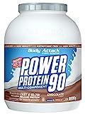 Body Attack Power Protein 90, 5K Eiweißpulver mit Whey-Protein, L-Carnitin und BCAA für Muskelaufbau und Fitness, Made in Germany (Chocolate Cream, 2 kg)