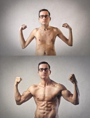 Muskelaufbau Ratgeber fuer sehr schlanke Menschen