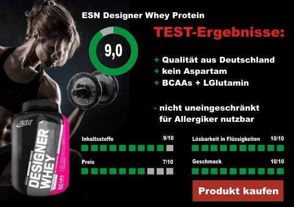 ESN Designer Whey Test