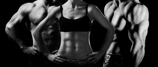 Muskelaufbau durch ketogene Ernaehrung Mann Frau