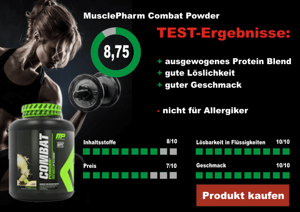 MusclePharm-Combat-Powder-Testergebnisse