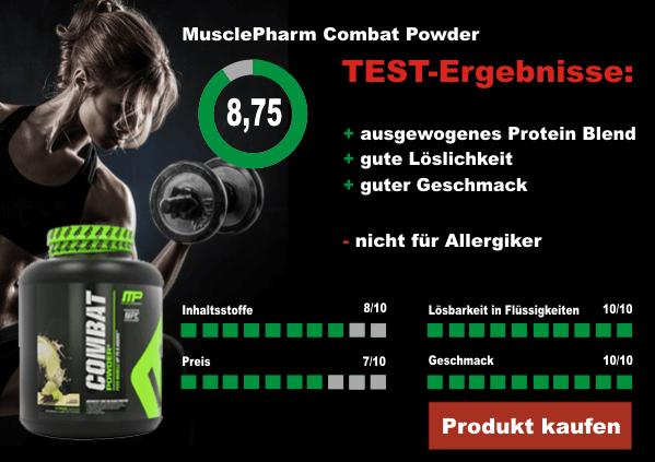 MusclePharm-Combat-Powder-Testergebnisse
