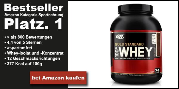 Bestes Whey Protein Bestseller Platz 1 optimum