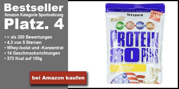 Bestes Whey Protein Bestseller Platz 4