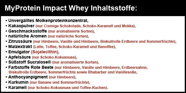 Impact-Whey-Protein-Inhaltsstoffe
