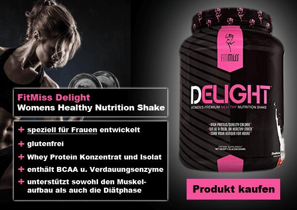 Whey-Proteine für Frauen FitMiss Delight