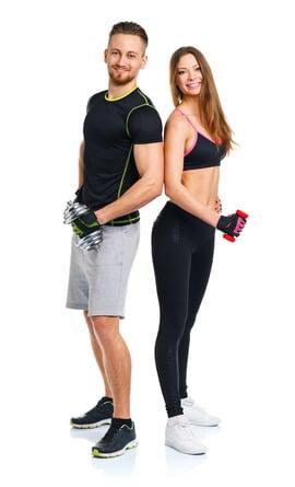 Fitness Mann Frau Whey Protein kaufen