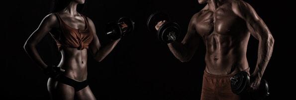 Whey Protein kaufen Bodybuilding Mann Frau