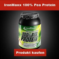 Ironmaxx 100 Prozent Erbsenprotein