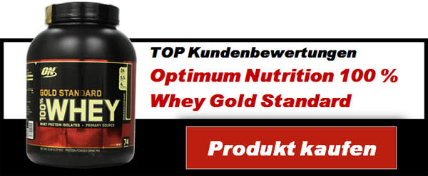 Optimum Nutrition 100 Prozent Whey Gold Standard Protein Molkenprotein