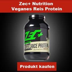 Zec+ Nutrition Veganes Reisprotein Eiweißpulver