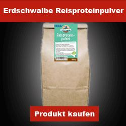 Erdschwalbe Reisproteinpulver