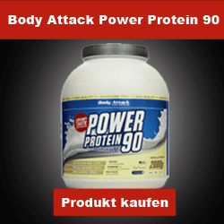 Mehrkomponentenprotein Body Attack Power Protein 90
