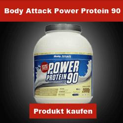 Mehrkomponentenprotein Body Attack Power Protein 90