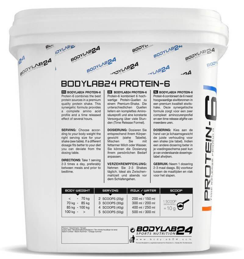 bodylab24-protein-6-dosierung