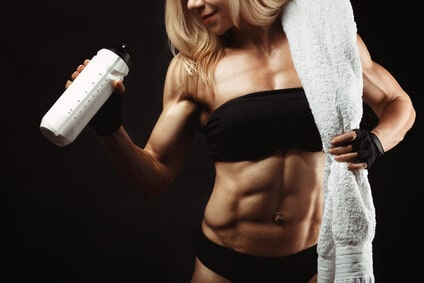 proteine fitness girl