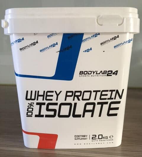 2000g eimer bodylab24 molkenprotein isolat