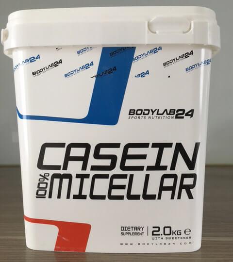 bodylab24 casein micellar box frontansicht