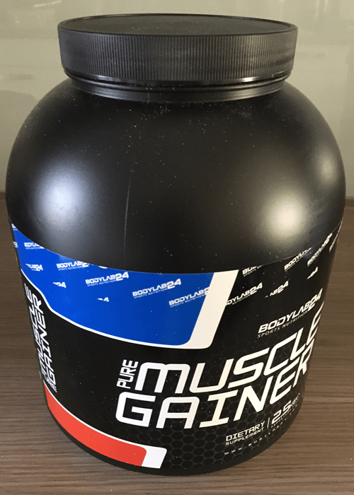 bodylab24 pure muscle gainer dose