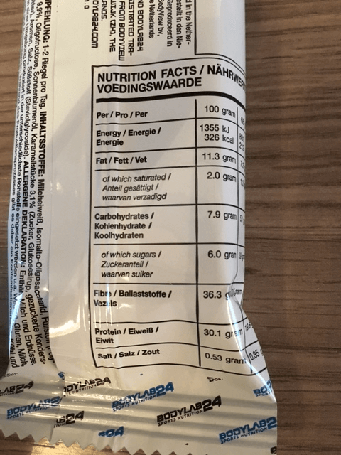 bodylab24-eat-clean-bar-nutrition-facts