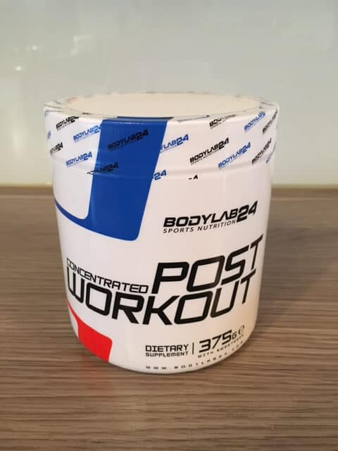 bodylab24 concentrated post workout shake