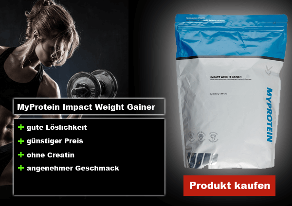 myprotein impact weight gainer review