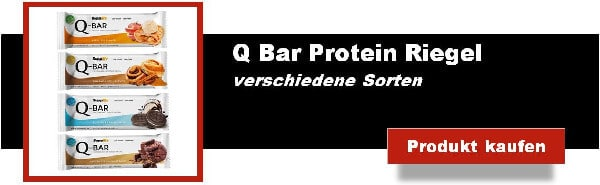 q bar protein eiweiss riegel low carb