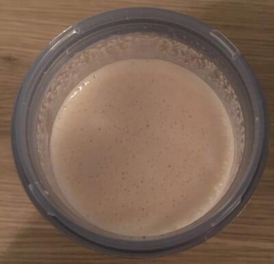 sayano elektrischer protein shaker fertiger shake