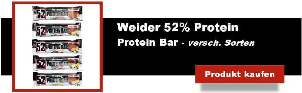 weider 52 prozent protein bar