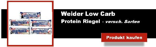 weider low carb protein riegel