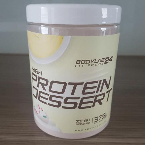 bodylab24 high protein dessert verpackung