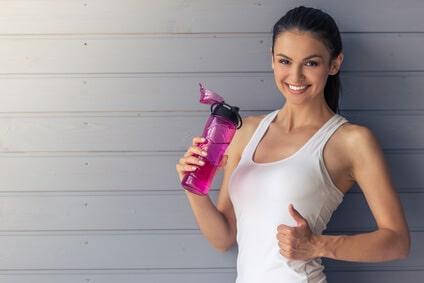 fitness girl eiweisspulver zum abnehmen