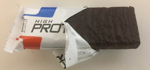 bodylab24-high-protein-wafer-riegel-chocolate-ausgepackt