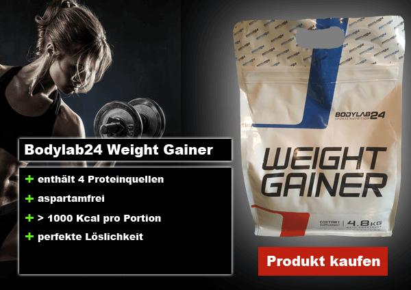 bodylab24 weight gainer online kaufen