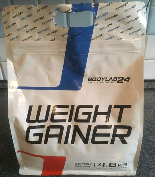 bodylab24 weight gainer verpackung
