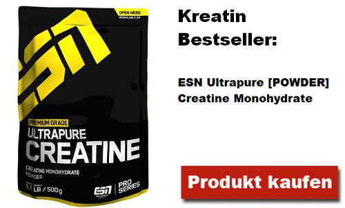 kreatin bestseller esn ultrapure creatine monohydrate pulver