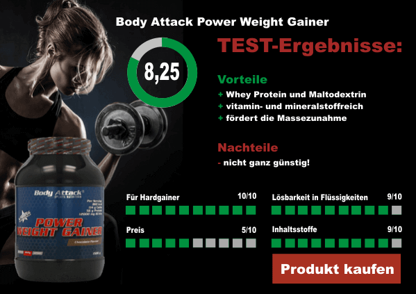 Body-Attack-Power-Weight-Gainer-Testergebnis