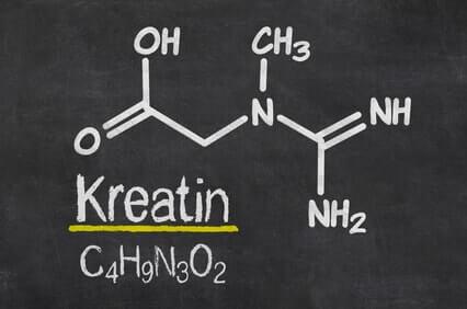 kreatin strukturformel creatine monohydrate