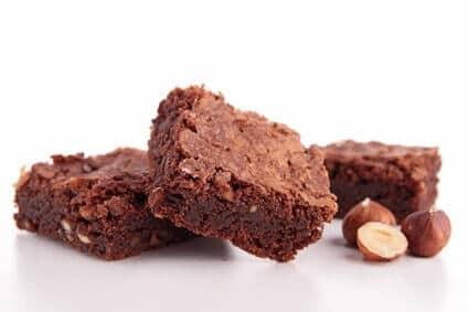 eiweißpulver zum backen haselnuss brownies rezept