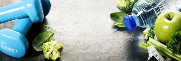 ernährungsplan muskelaufbau äpfel und hantel