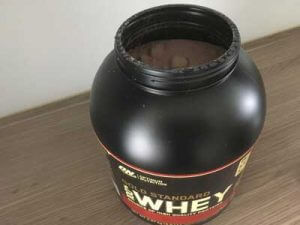 optimum nutrition 100 whey gold standard test tonne offen pulver