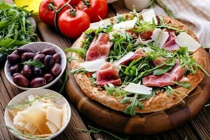 pizza rezept mit eiweißpulver