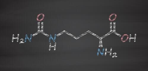 citrullin moleküldiagramm