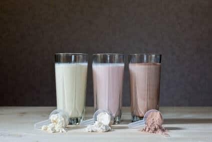 protein shakes varianten